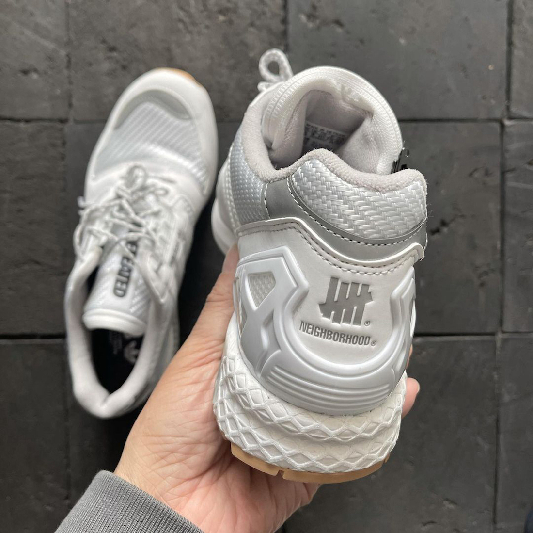 Neighborhood Undefeated adidas ZX 8000 White Release Date