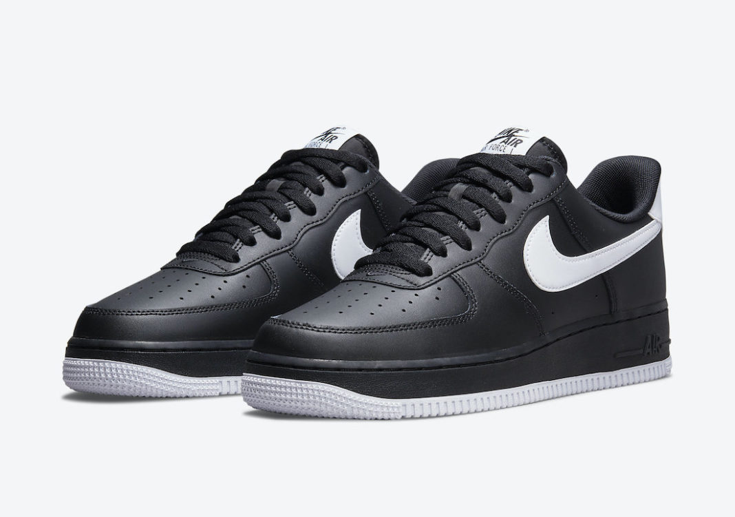 Nike Air Force 1 Low Black White DC2911-002 Release Date