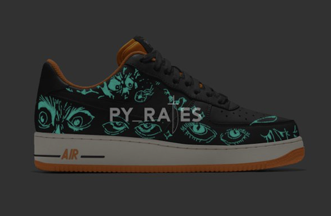 Nike Air Force 1 Low Halloween 2021 Release Date 1 1068x698