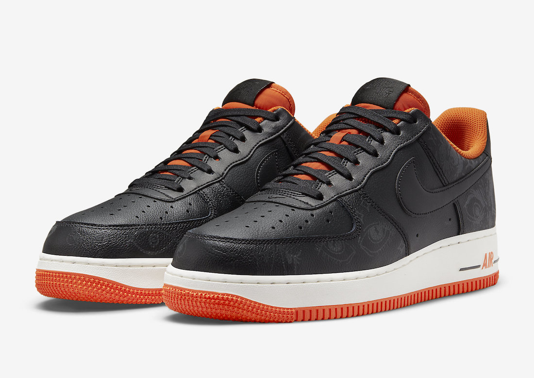 Nike Air Force 1 Low Halloween DC8891-001 2021 Release Date