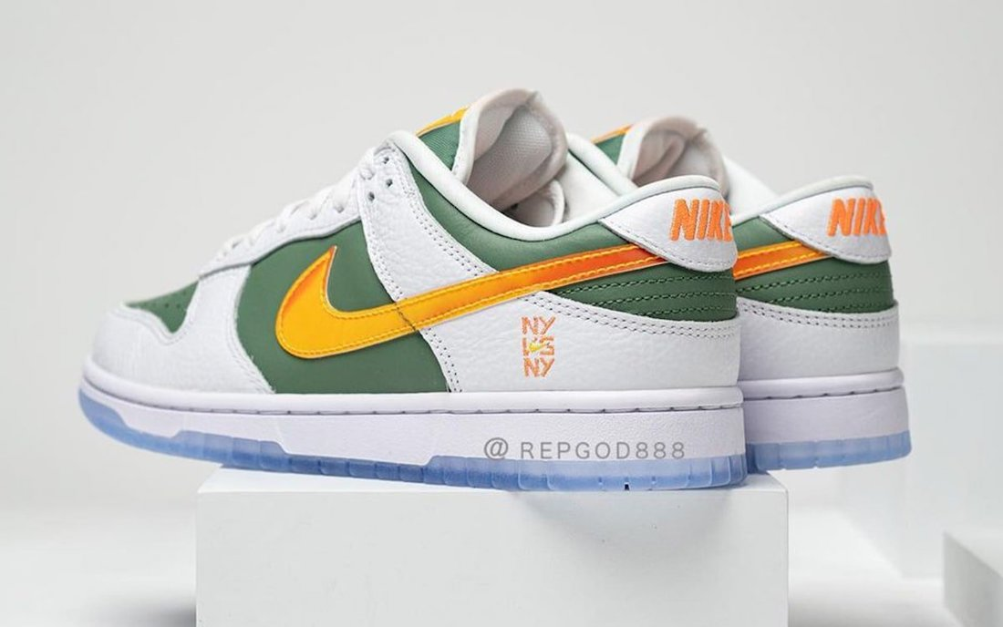 Nike Dunk Low NY vs NY DN2489-300 Release Date