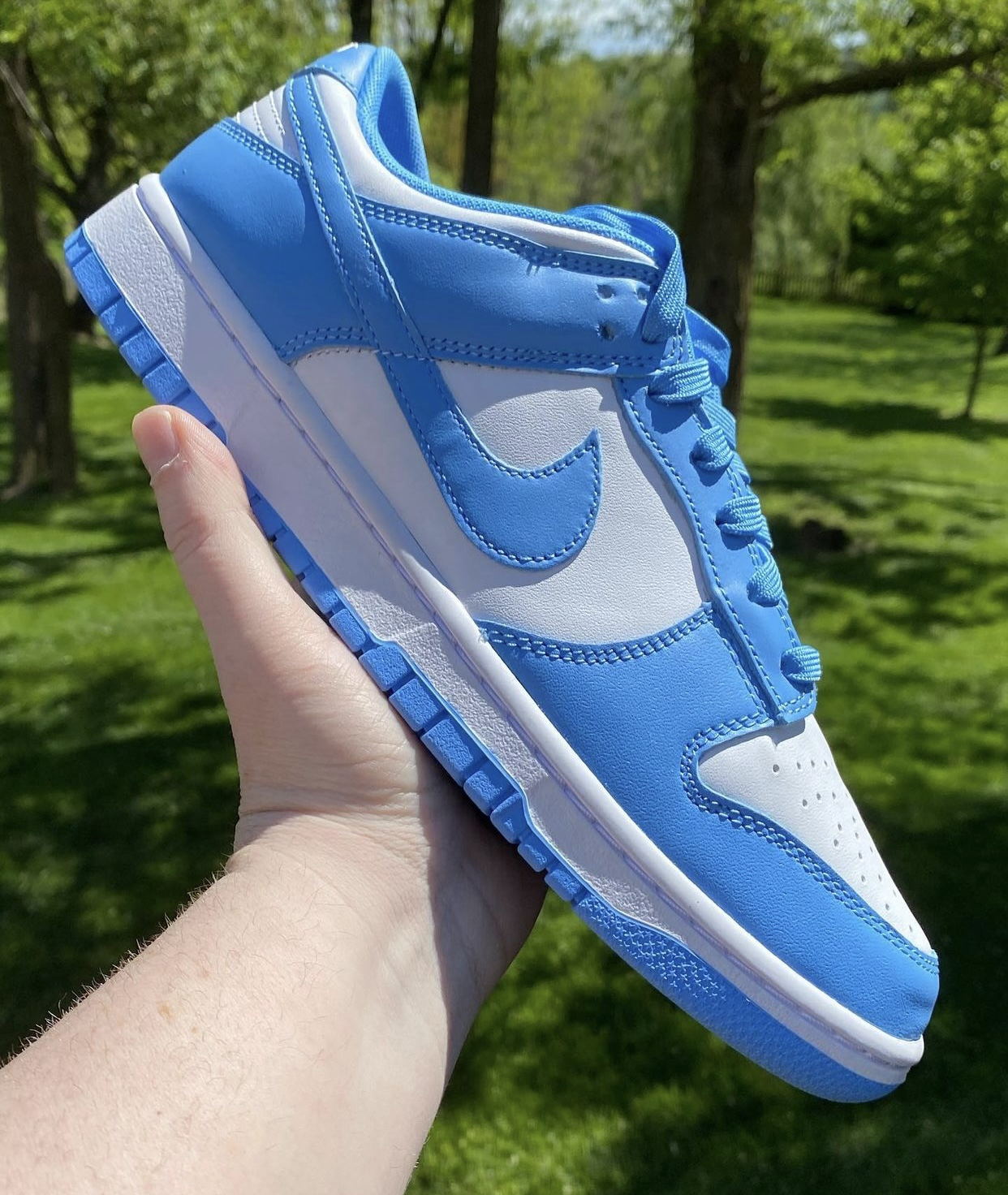 Nike Dunk Low University Blue DD1391-102 Release Date Pricing