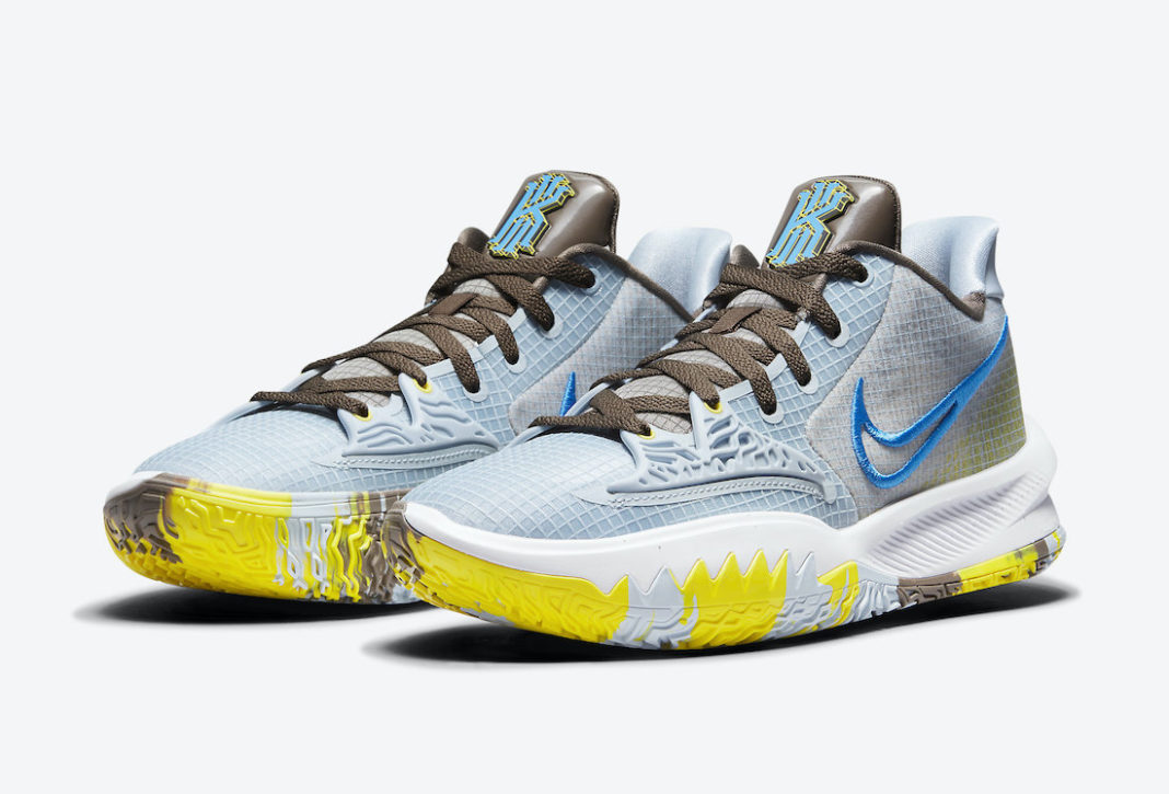 Nike Kyrie Low 4 Light Armory Blue CW3985-400 Release Date