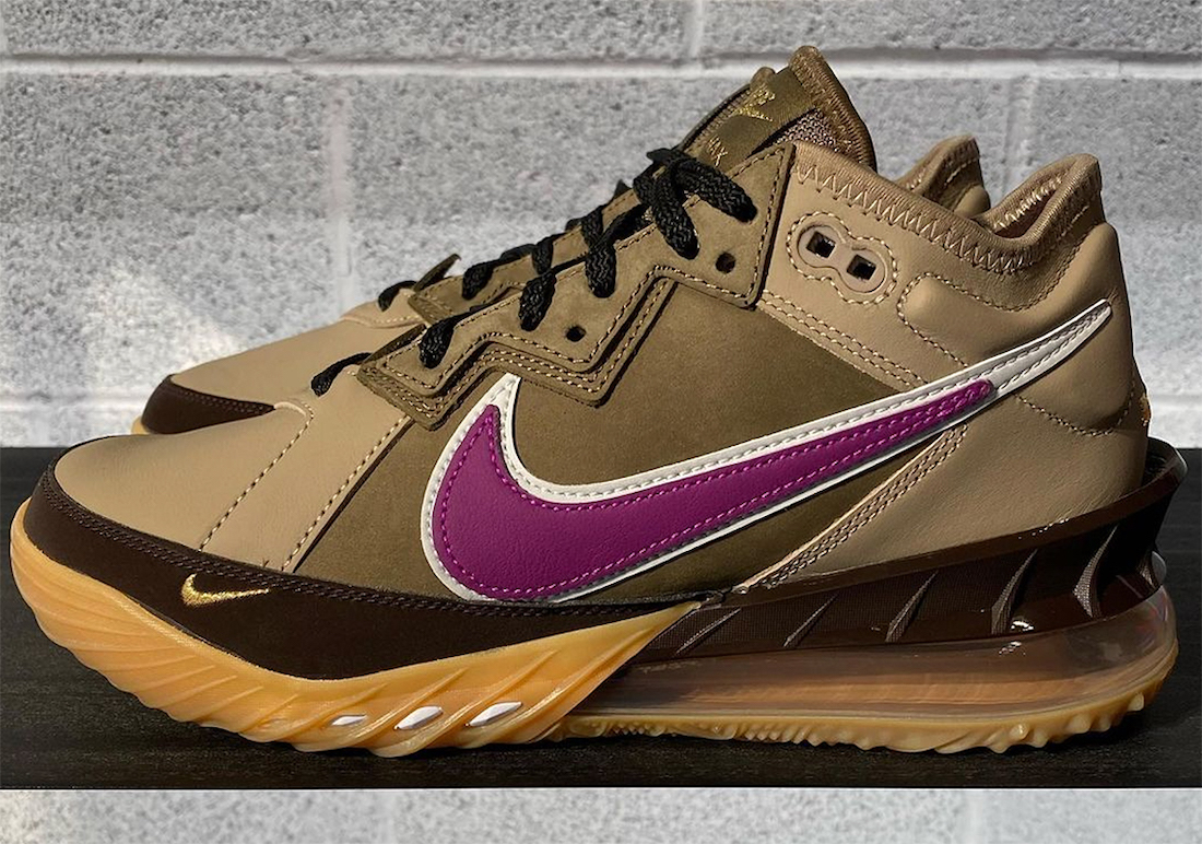 Nike LeBron 18 Low Viotech Release Date