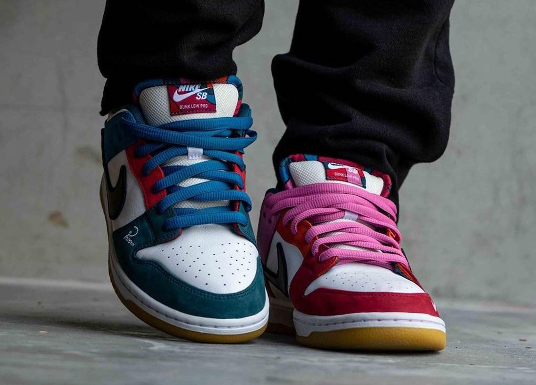 Parra Nike SB Dunk Low DH7695-100 On-Feet