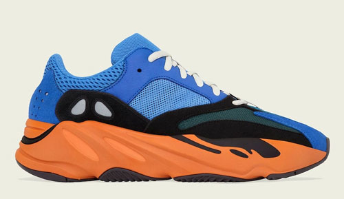 adidas yeezy boost 700 bright blue official release dates 2021