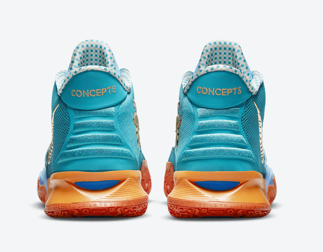 Concepts Nike Kyrie 7 Horus CT1135-900 Release Date