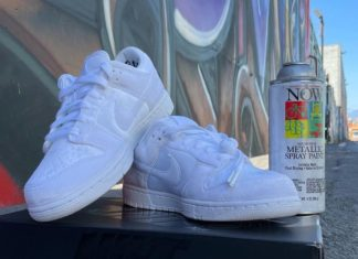 DSM Dover Street Market x Nike Dunk Low White DH2686-100 Release Date