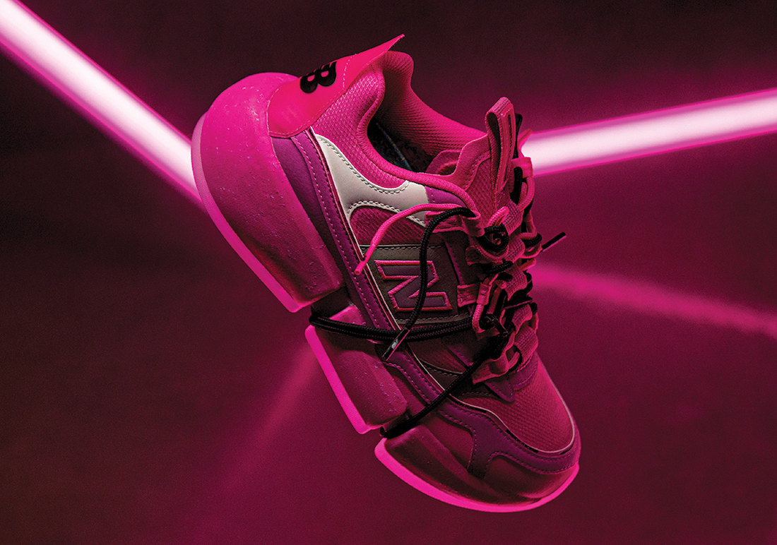 Jaden Smith New Balance Vision Racer Pink Release Date