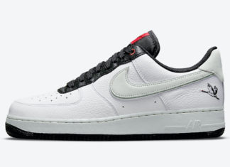 Nike Air Force 1 Low Milky Stork DA8482-100 Release Date
