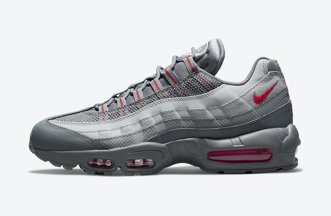 Nike Air Max 95 Grey Red DM9104-002 Release Date