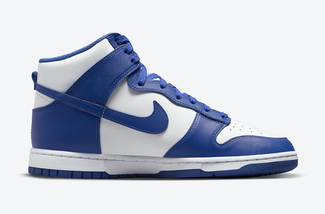 Nike Dunk High Game Royal DD1399-102 Release Date Price