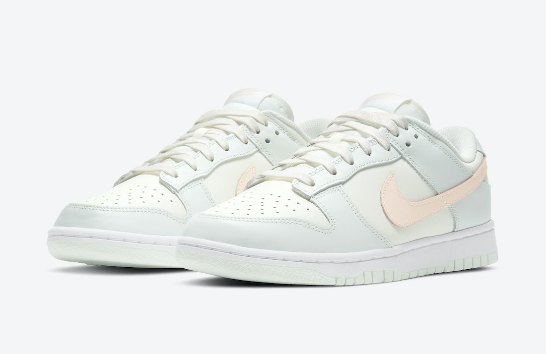 Nike Dunk Low Barely Green WMNS DD1503-104 Release Date