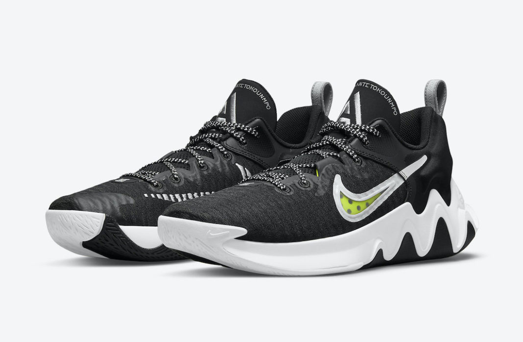 Nike Giannis Immortality Black White Volt CZ4099-010 Release Date