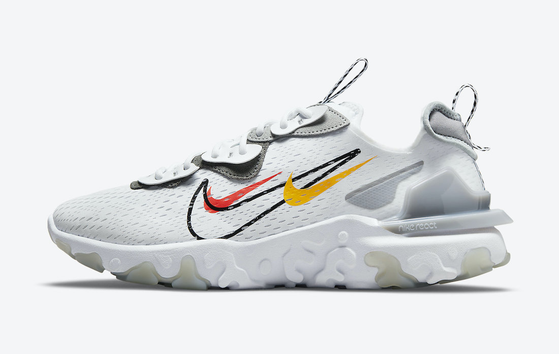 Nike React Vision DM9095-101 Release Date