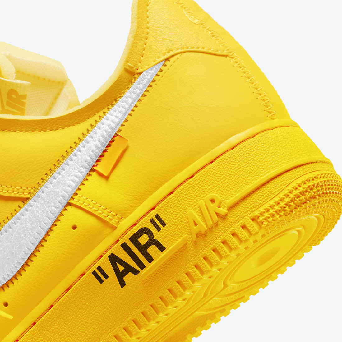Off-White Nike Air Force 1 Low University Gold DD1876-700 Release Date