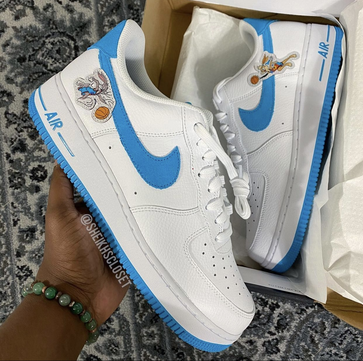 Space Jam Nike Air Force 1 Low Hare Bugs Lola Bunny Release Date