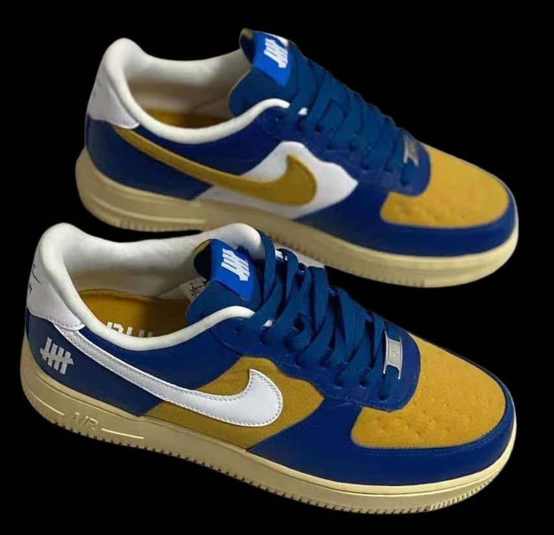Undefeated Nike Air Force 1 Low Dunk vs AF1 Pack Release Date