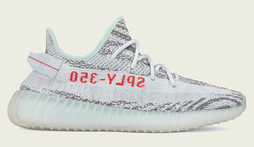 adidas yeezy boost 350 V2 blue tint restock official release dates 2021