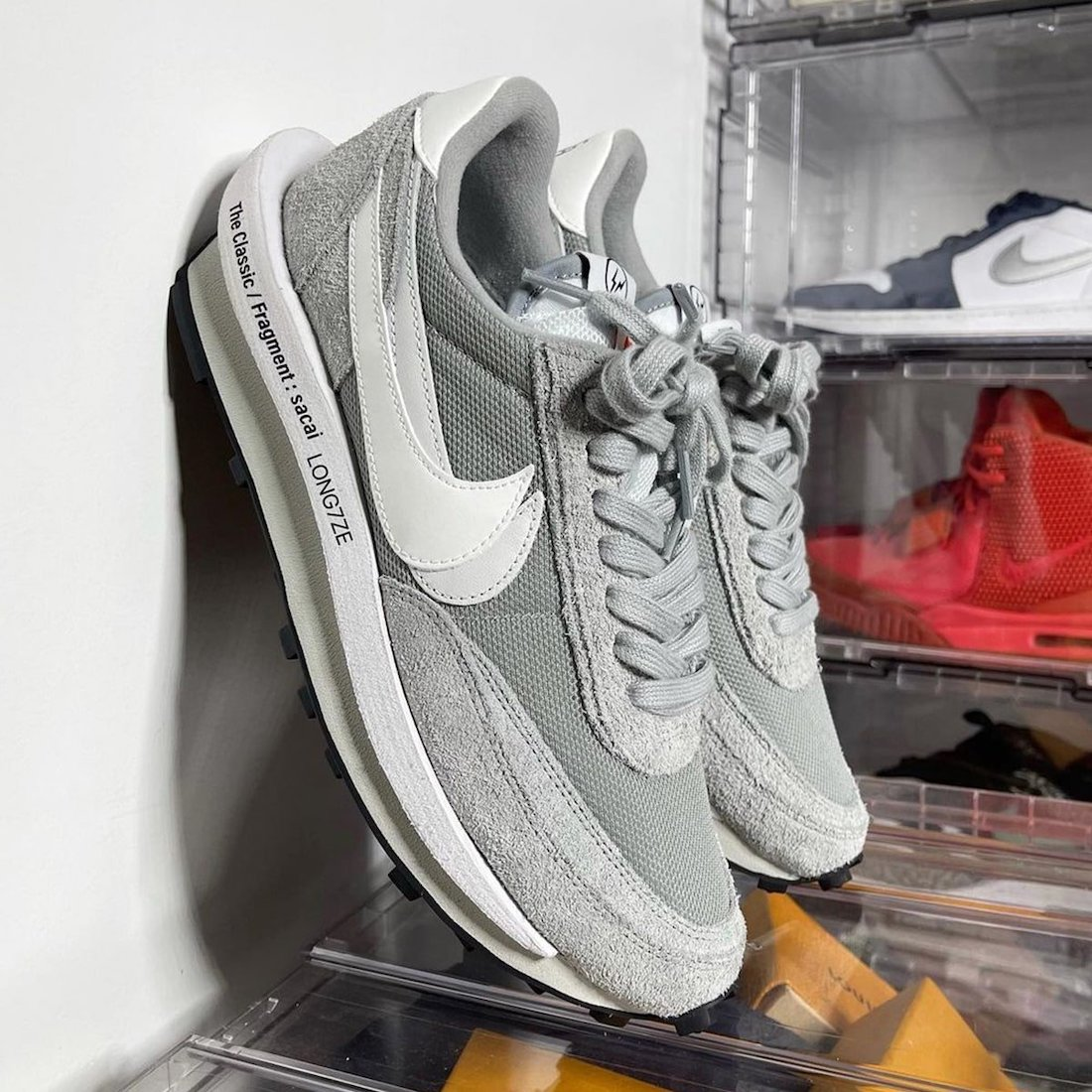 Fragment Sacai Nike LDWaffle Grey White DH2684-001 Release Date