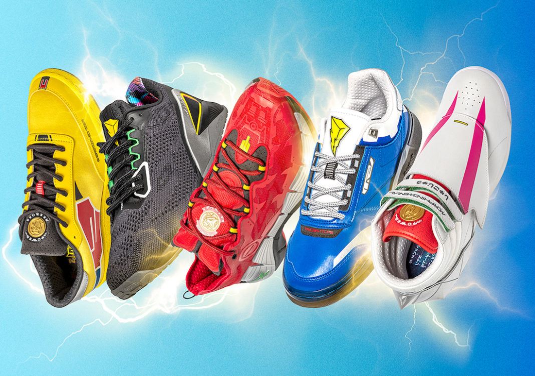Mighty Morphin Power Rangers Reebok Collection Release Date