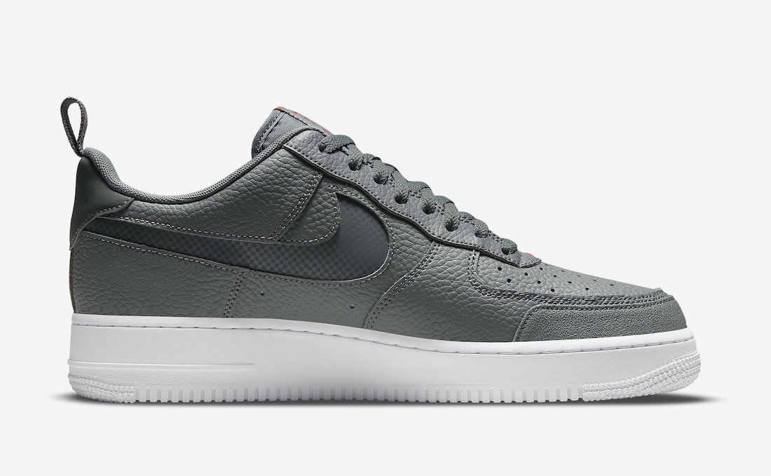 Nike Air Force 1 Low Grey Red DN4433-001 Release Date