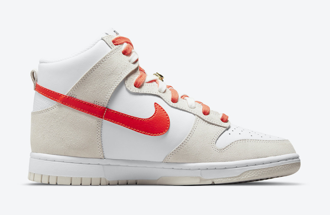Nike Dunk High First Use White Orange DH6758-100 Release Date
