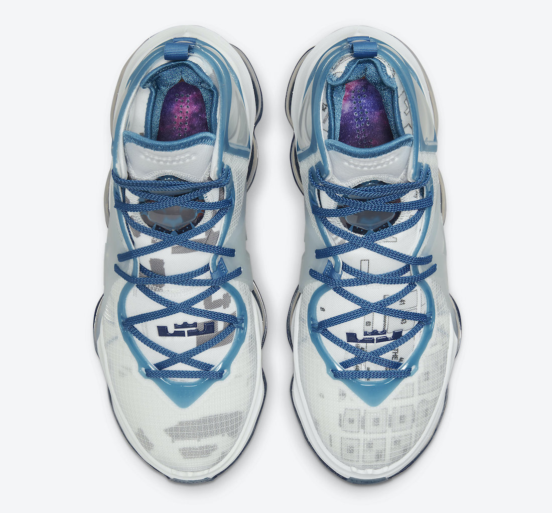 Nike LeBron 19 Space Jam DC9338-100 release date