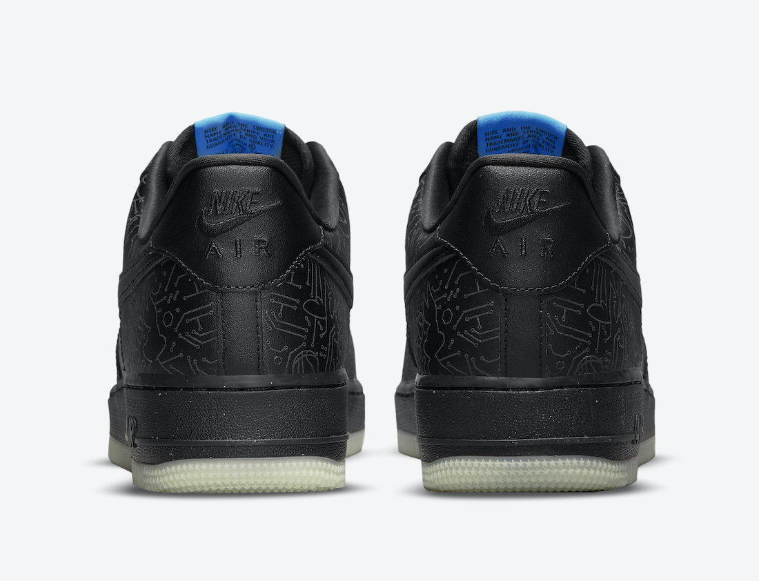 Space Jam Nike Air Force 1 Low Computer Chip DH5354-001 Release Date