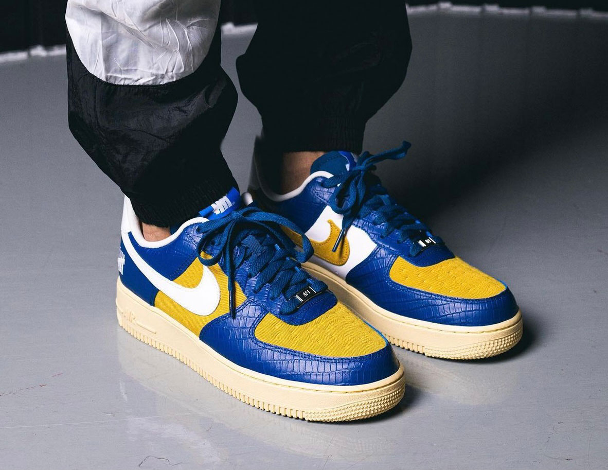 Undefeated Nike Air Force 1 Low Dunk vs AF1 Pack Release Date On-Feet