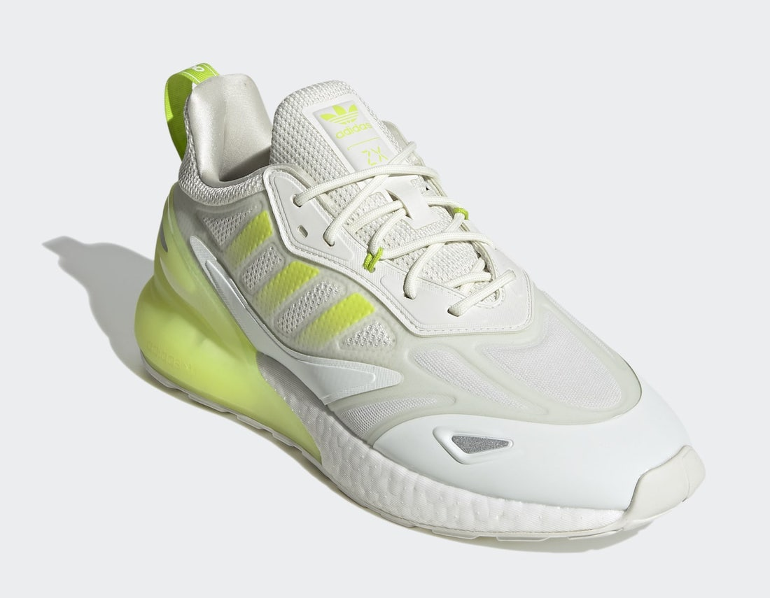 adidas ZX 2K Boost 2.0 White GZ7734 Release Date
