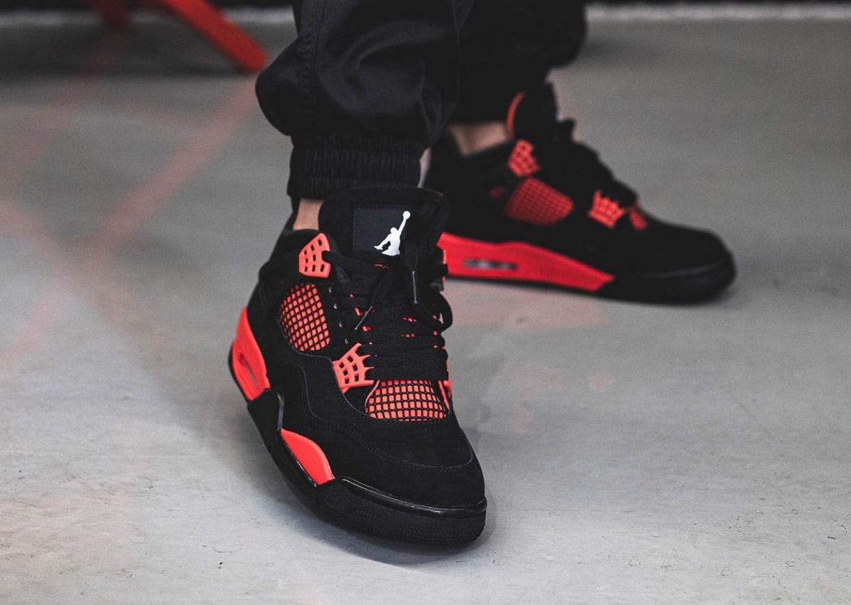 Nikesneakers, LLC Red Thunder CT8527-016 On-Feet