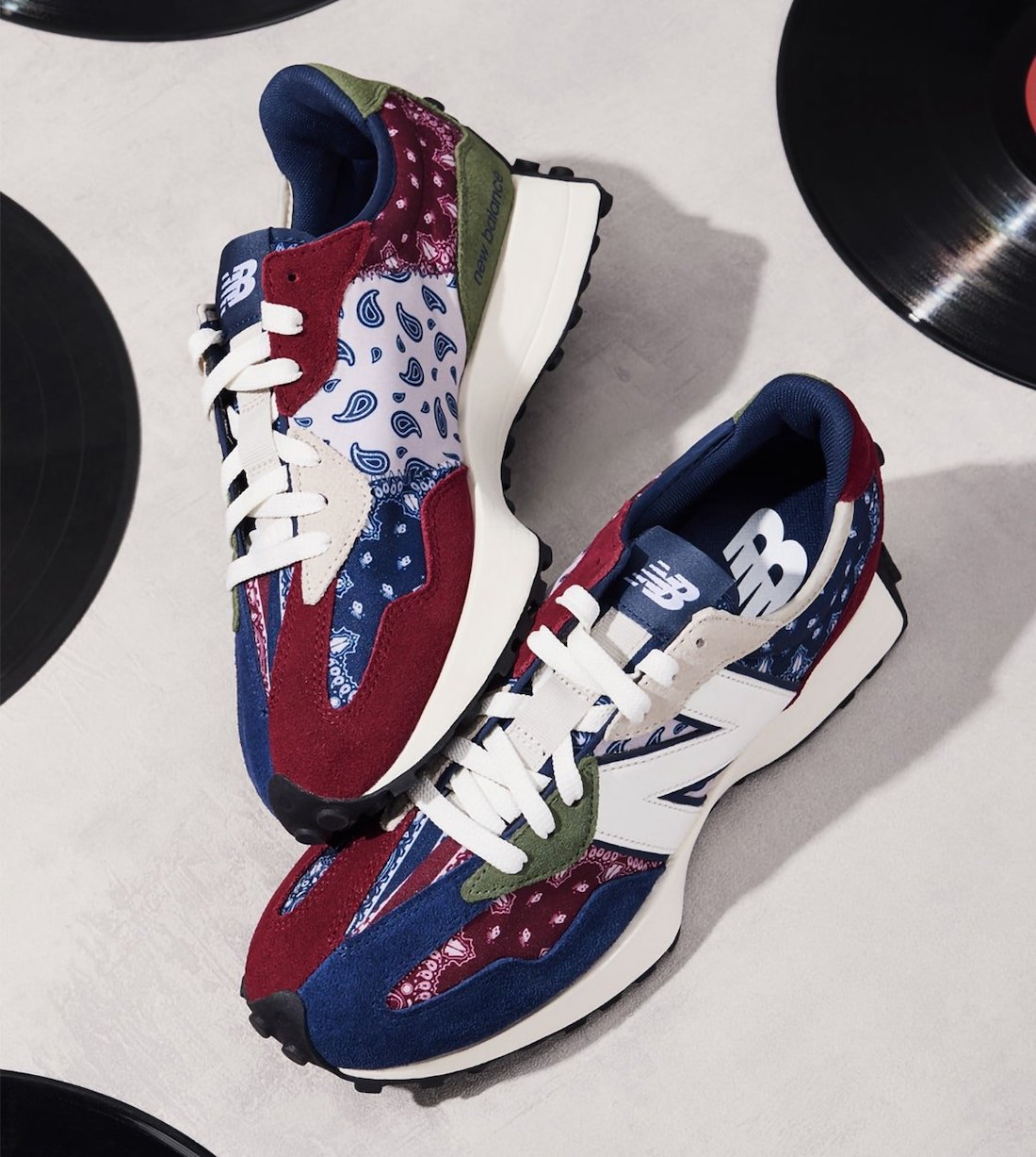 New Balance 327 Paisley Pack Navy MS327DWU Release Date