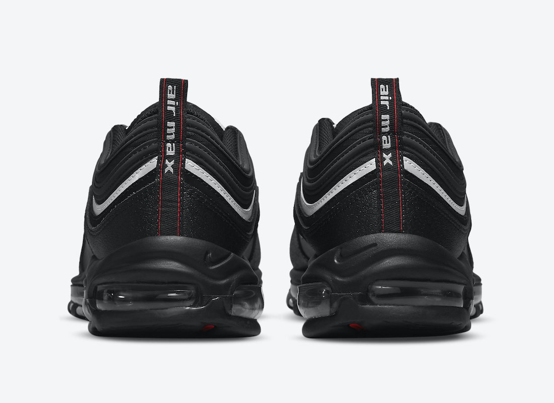 Nike Air Max 97 Black White Red DH1083-001 Release Date