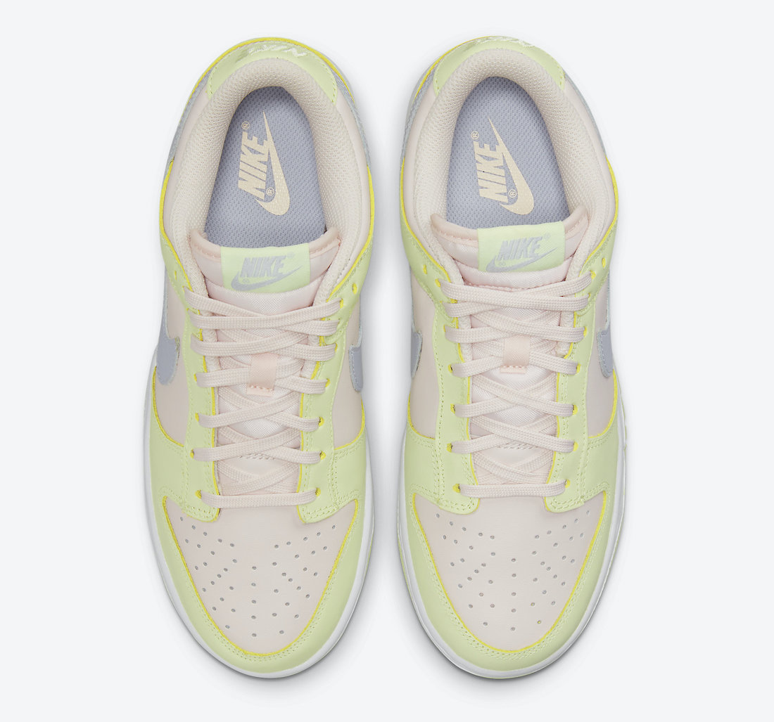 Nike Dunk Low Light Soft Pink Lime Ice DD1503-600 Release Date
