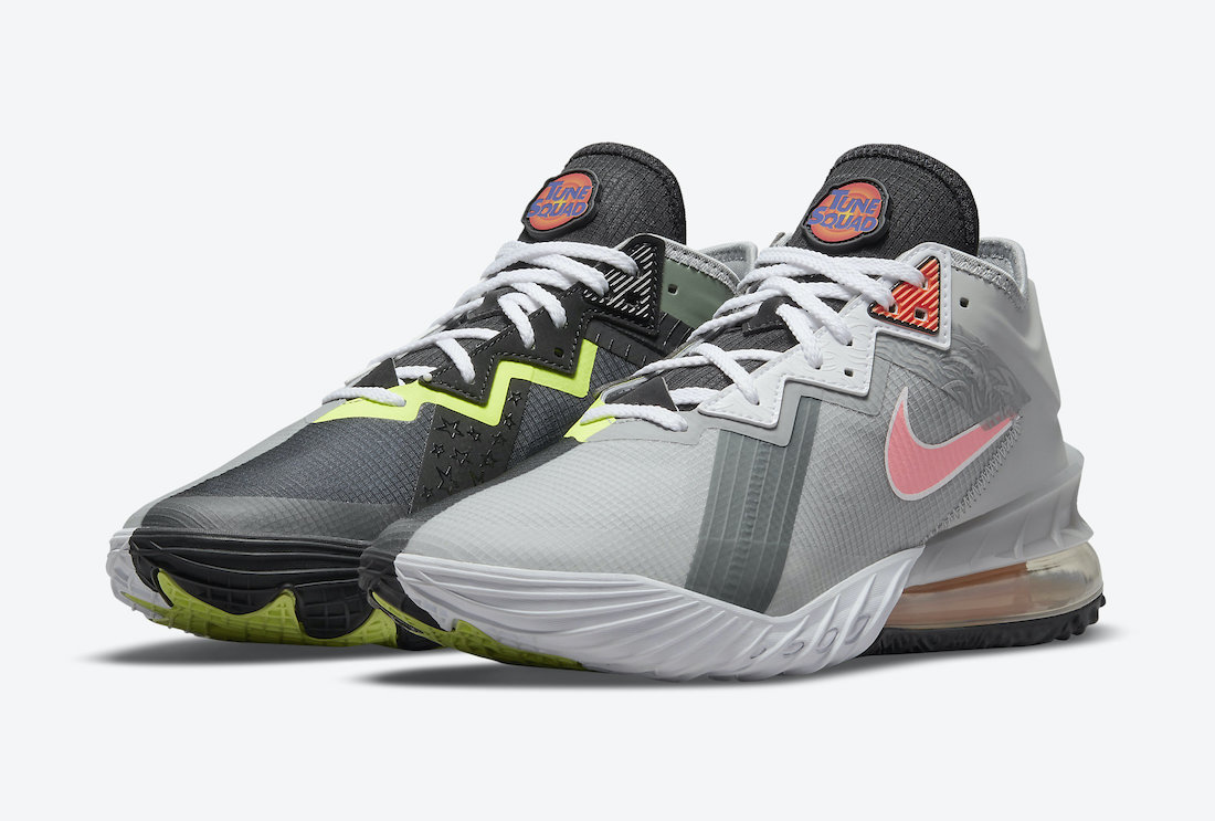 Space Jam Nike LeBron 18 Low Bugs Bunny Marvin The Martian CV7562-005 Release Date