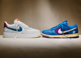 Undefeated Nike Dunk Low Air Force 1 Low 5 On It Release Date