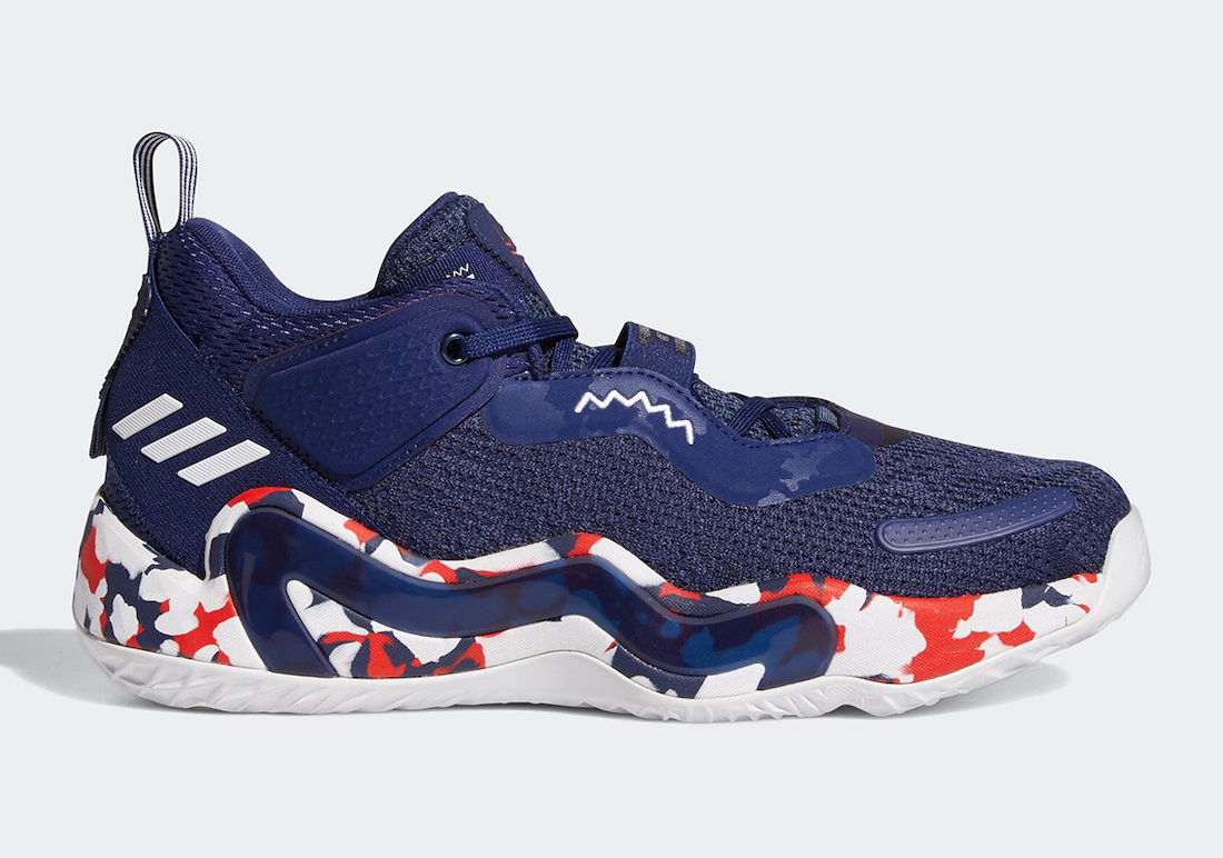 adidas DON Issue 3 USA GW2945 Release Date