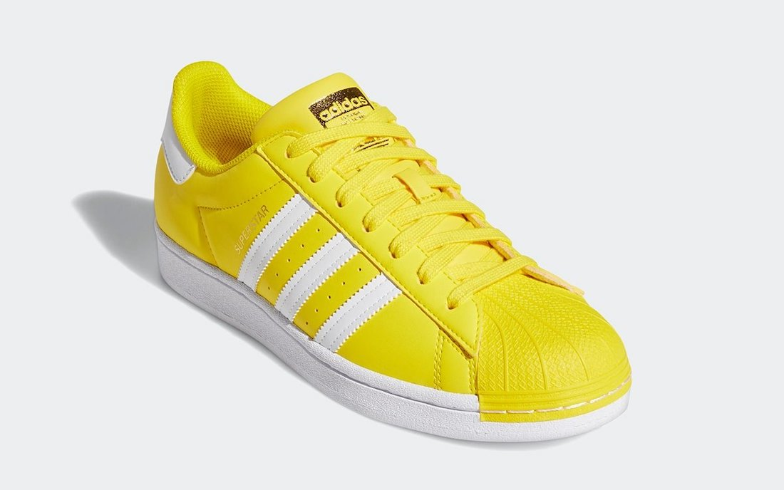 adidas Superstar Yellow White Gold GY5795 Release Date