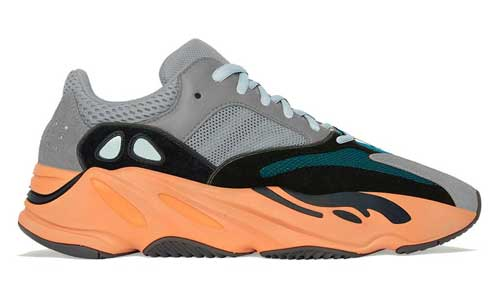 adidas yeezy boost 700 wash orange official release dates 2021