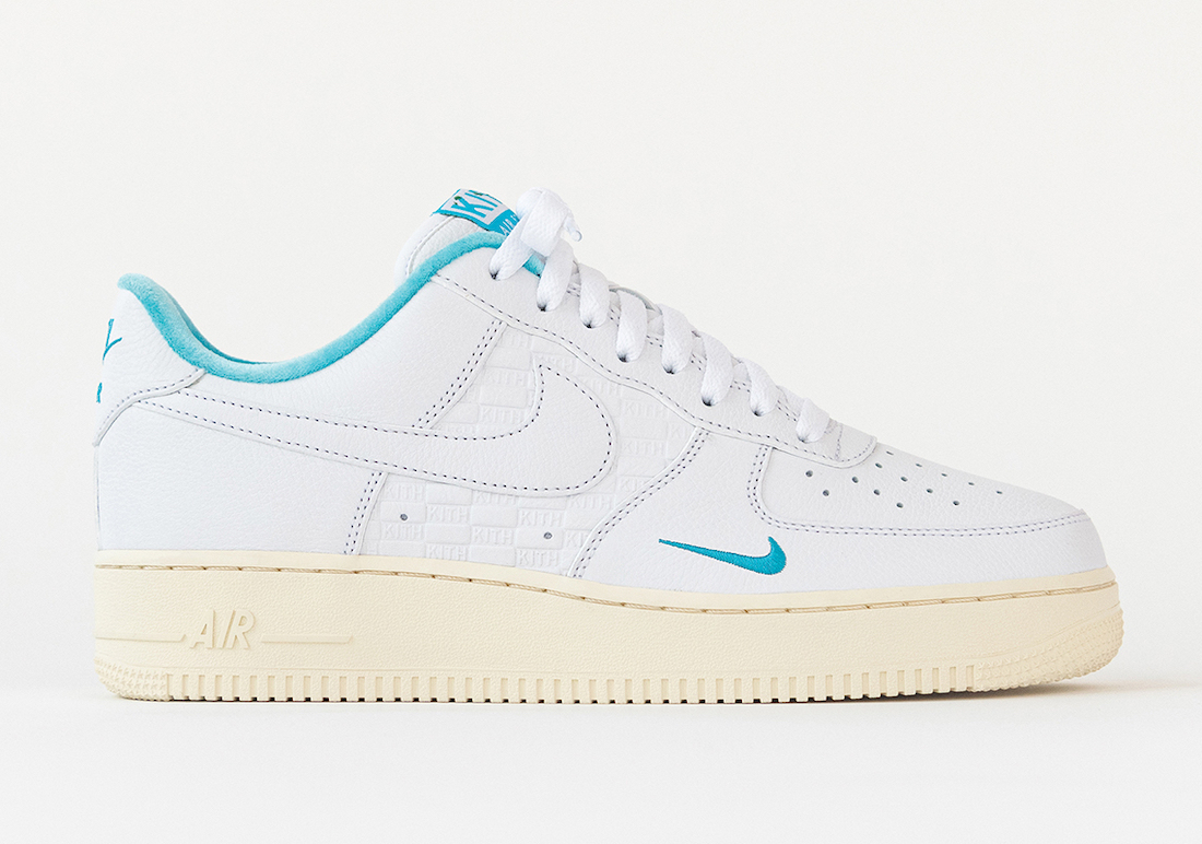 Kith Nike Air Force 1 Low Hawaii DC9555-100 Release Date Price
