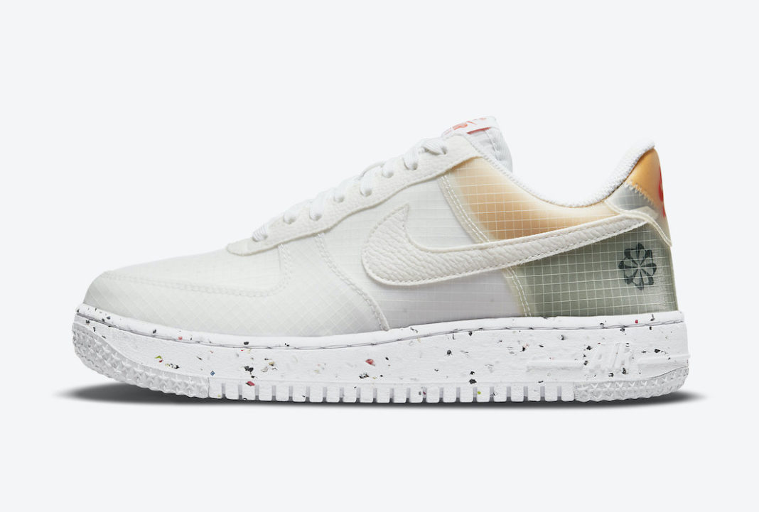 Nike Air Force 1 Crater White Orange DH2521-100 Release Date