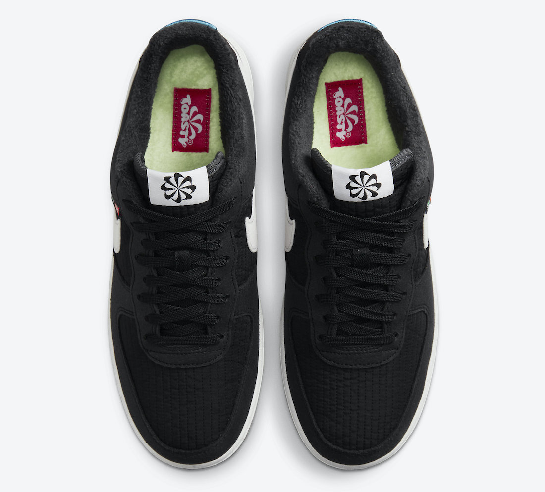 Nike Air Force 1 Low Toasty Black DC8871-001 Release Date