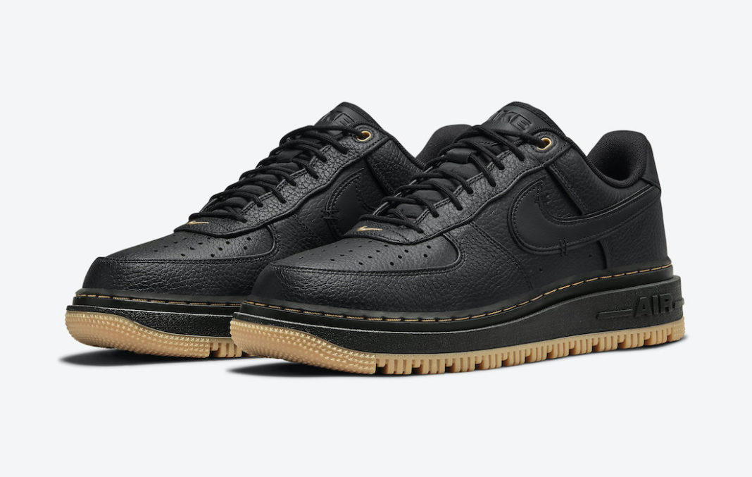 Nike Air Force 1 Luxe Black Gum DB4109-001 Release Date - SBD