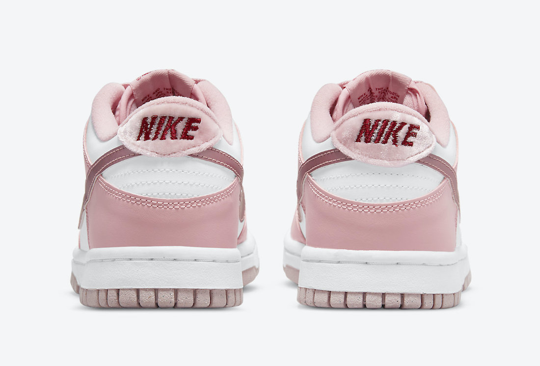 Nike Dunk Low GS Pink Velvet DO6485-600 Release Date