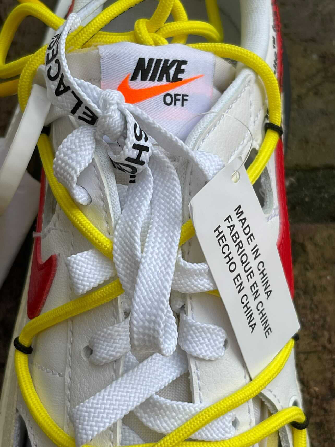 Off-White Nike Blazer Low White University Red DH7863-100 Release Date
