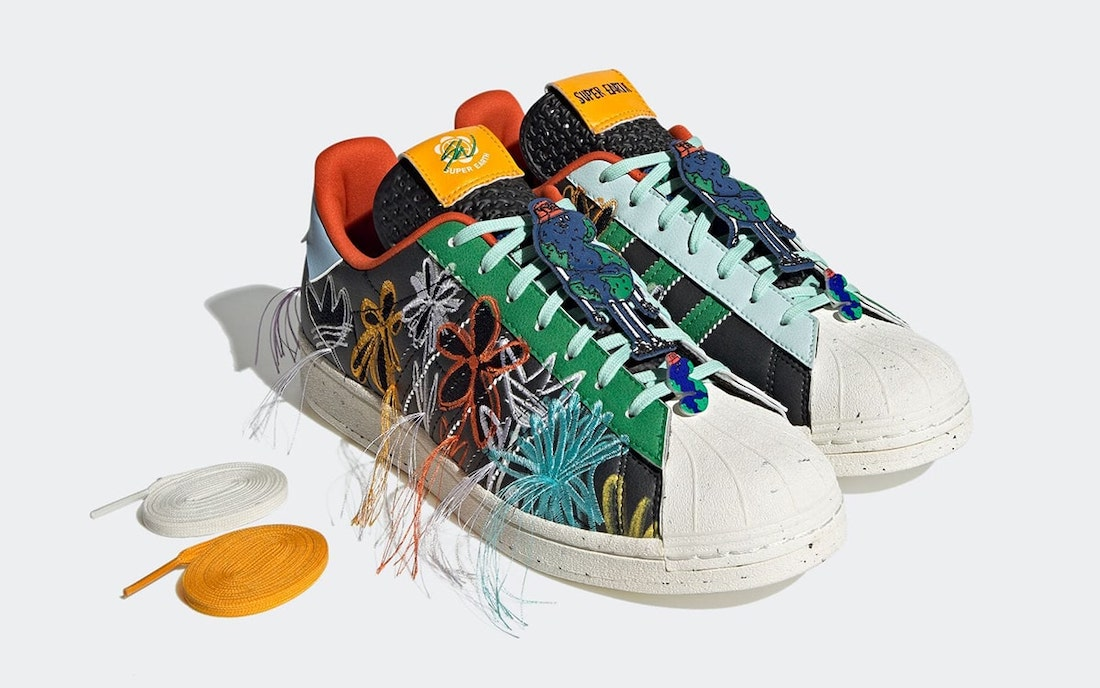 Sean Wotherspoon adidas Superstar SUPER EARTH Black GX3823 Release Date