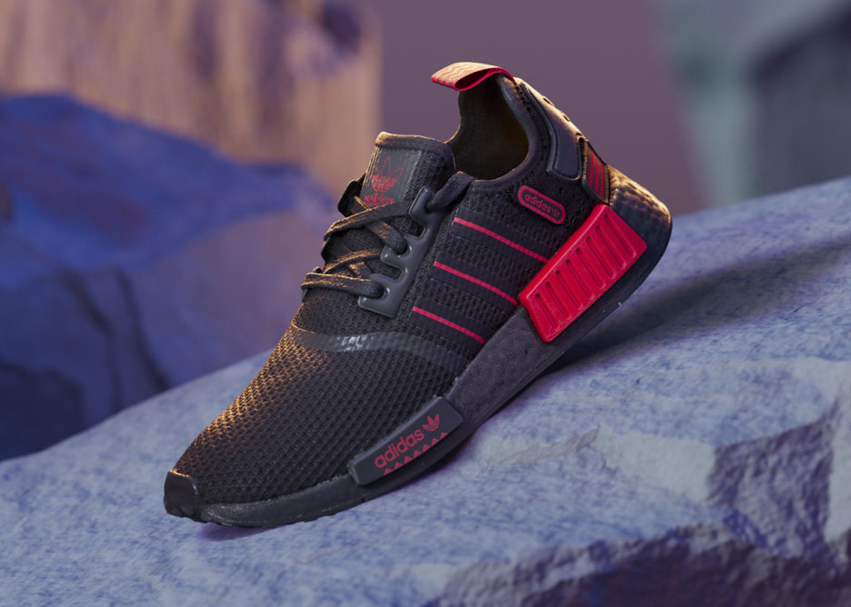 adidas NMD R1 Black Red GV8422 Release Date