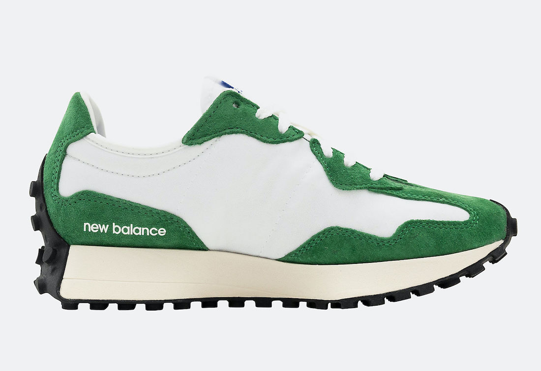 New Balance 327 Green White MS327LG1 Release Date