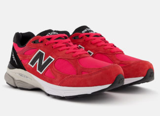 New Balance 990v3 Red Suede M990PL3 Release Date